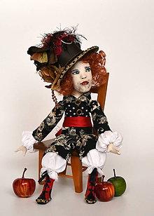 Bábiky - Autorská bábika ARTHUR - 10686180_