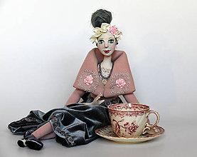 Bábiky - Autorská bábika ANASTASIA - 10686267_