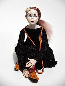 Bábiky - Autorská bábika ZARA - 10686316_