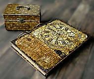 Krabičky - Nežný čokoládkový minikufrík 2/Krabička na darovanie peňazí/Šperkovnica - 10684253_