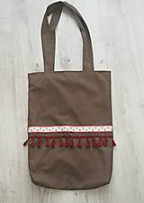 Nákupné tašky - Námornícka taška na rameno - 10684095_