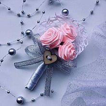 Pierka - Veľké svadobné pierko Romance - 10685517_