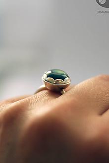 Prstene - Strieborný prsteň