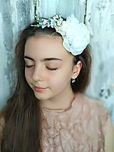 Ozdoby do vlasov - Čelenka- kvety z lúky - 10689425_