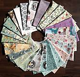 Textil - Darčeková taška  Santoro - Mirabelle - 10688352_