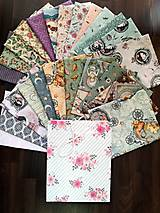 Textil - Darčeková taška  Santoro - Mirabelle - 10688353_