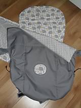 Textil - Nepremokavý nánožník - s aplikáciou - 10689452_