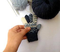 Detské doplnky - Rukavice prstové maličké - 10689196_