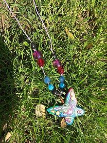 Náhrdelníky - Nočný motýľ - 10690159_