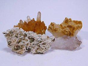Minerály - 4 ks minerály zo Štiavnice - 10687038_