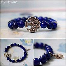 Náramky - Náramok Lapis lazuli a strom života - 10689667_