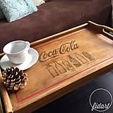 """Nádoby - rozkladací podnos """"Coca-Cola"""" - 10688912_"""