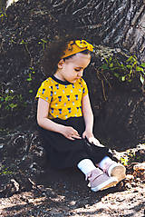 Detské oblečenie - PUPU šaty - mačičky (bio bavlna) - 10690134_