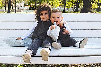 Detské oblečenie - Dlhé romperky LI-LO (bio-bavlna) - 10690122_