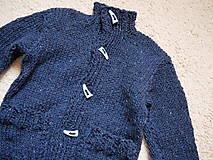 Detské oblečenie - chlapčenský svetrík jednoduchoklasický - 10688906_