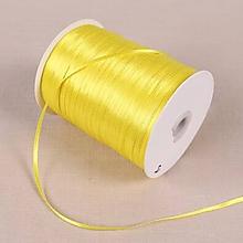 Galantéria - stuha saténová žltá 3mm - 10689573_
