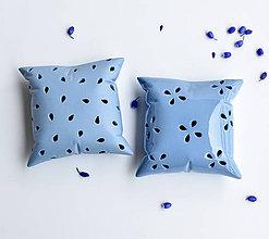Dekorácie - Porcelánová vonítka (2ks modrá) - 10690194_