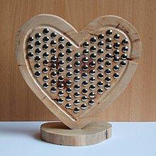 Dekorácie - Dekorácia z dreva - Vybíjané slivkové srdce..:o) - 10689309_
