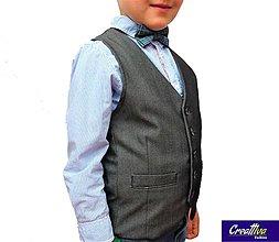 Iné oblečenie - Detská vestička - 10688687_