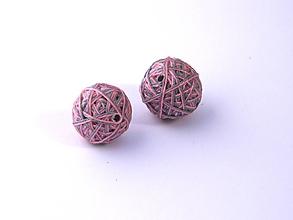 Materiál ručne robený - Korálky pár klbiek 32 - 10686852_