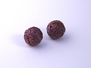 Materiál ručne robený - Korálky pár klbiek 35 - 10686857_