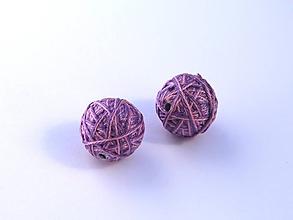 Materiál ručne robený - Korálky pár klbiek 34 - 10686858_