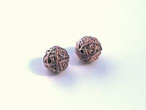 Materiál ručne robený - Korálky pár klbiek 31 - 10686871_