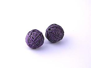 Materiál ručne robený - Korálky pár klbiek 37 - 10686882_