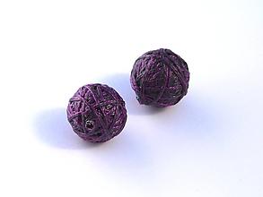 Materiál ručne robený - Korálky pár klbiek 38 - 10686887_