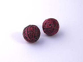 Materiál ručne robený - Korálky pár klbiek 40 - 10686891_