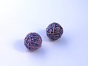 Materiál ručne robený - Korálky pár klbiek 42 - 10686904_