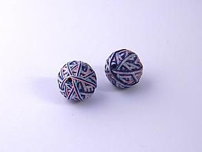 Materiál ručne robený - Korálky pár klbiek 43 - 10686906_
