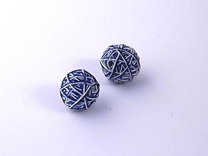 Materiál ručne robený - Korálky pár klbiek 45 - 10686907_