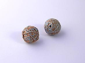 Materiál ručne robený - Korálky pár klbiek 50 - 10686932_