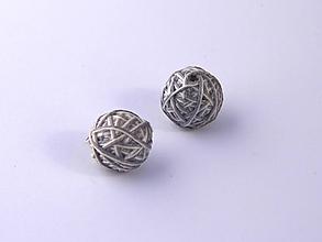 Materiál ručne robený - Korálky pár klbiek 48 - 10686933_