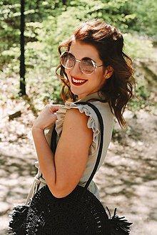 Šaty - Košeľové šaty Cafe de Flore ľan - 10687429_