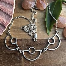 Náhrdelníky - Art Deco náhrdelník - 10687119_