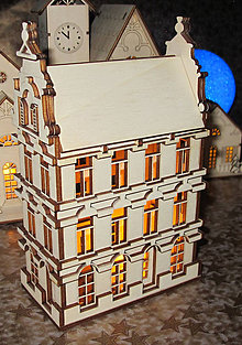 Dekorácie - Vianočná svetelná dekorácia - 10688668_