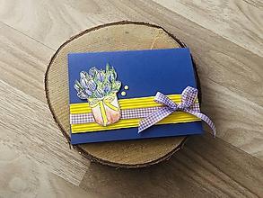 Papiernictvo - Pohľadnica s tulipánmi - 10688785_