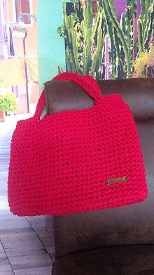 Nákupné tašky - Háčkovaná taška - 10688424_