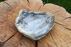 Nádoby - miska z kameňa - 10686820_