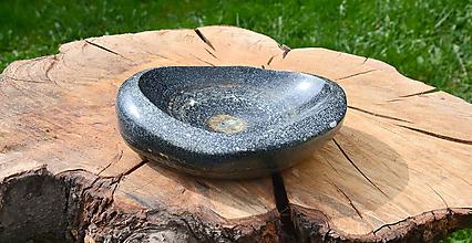 Nádoby - miska z kameňa - 10686841_