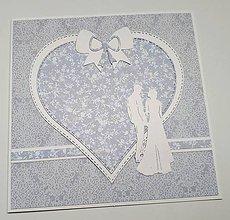 Papiernictvo - Svadobná pohľadnica - 10689757_