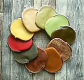 Peňaženky - Kovová peněženka s kovovým rámečkem-různé barvy - 10688729_