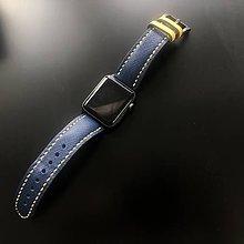 Náramky - Kožený remienok na hodinky - 10692870_