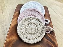 Úžitkový textil - Jemné kozmetické tampóny - 10691976_