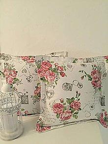 Úžitkový textil - Vintage obliečky - 10692816_