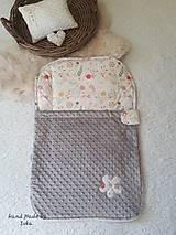 Textil - Detský vak na spanie - do postieľky  aj do kočiara - 10692098_