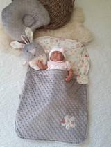 Textil - Detský vak na spanie - do postieľky  aj do kočiara - 10692099_