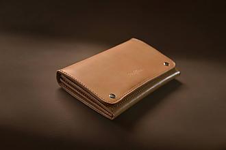 Peňaženky - Kožená peňaženka Big Sur - 10690454_